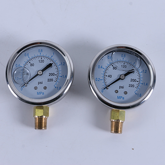 Househouse reverse osmosis water purifier parts water pressure meter water gauge