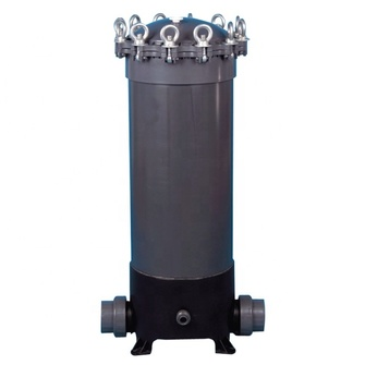 20/30/40 Inch UPVC 8/9 Core Micro filter / Micro Membrane Filter Housing / cartridge filter