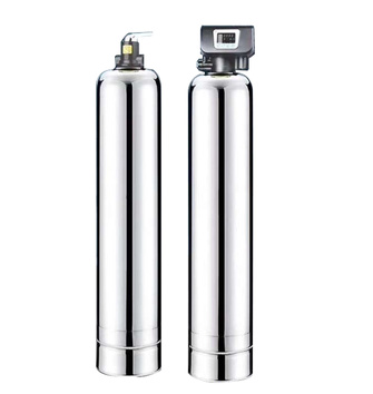 3000L/H Magnetic united standard whole house water softener filtration