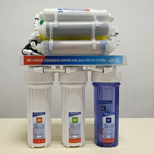 7 stage undersink reverse osmosis water filter