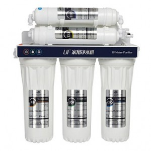 Non-electrical ultra filtration 5-6 stage UF water purifier no tank drinking water filter system filtros de agua