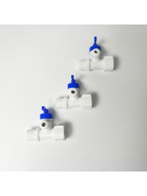 Reverse osmosis water purifier machines spare parts 3 ways 2 in 1 plastic water filter valve