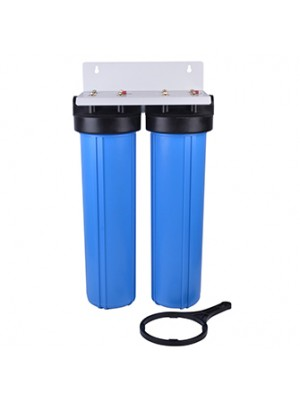 20'inch jumbo blue best whole home water filter filtration system