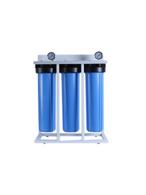3 stage 20inch jumbo whole house pre-water filter system