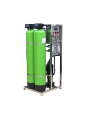 250-500liter each hour reverse osmosis water filtration treatment plant