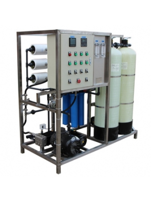500liter each hour well water industrial reverse osmosis water treatment plant system