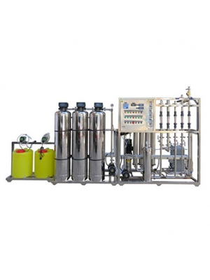 250-10000L/H Industrial reverse osmosis water purification plant RO water filter system with EDI