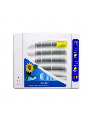 Household Wall Mounted Ozone Generator Air Refresher HEPA Active Carbon Filter Air Purifier