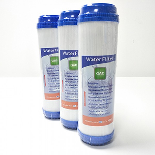 water filter spare parts 10 inch GAC filter cartridge