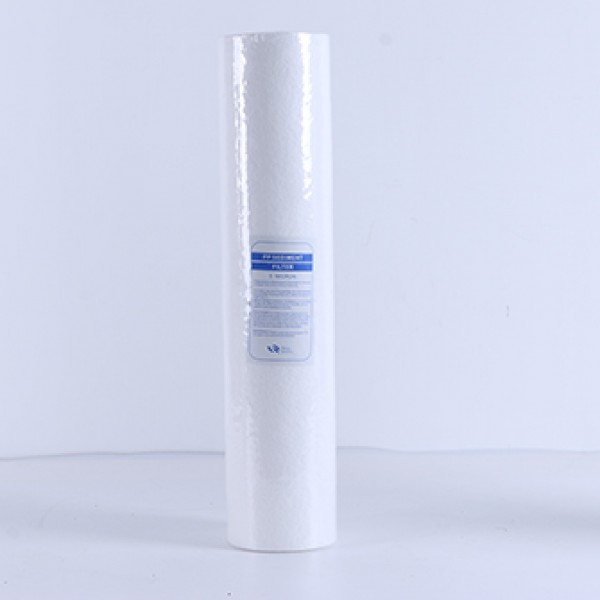 Household water filter spare parts whole house pre-filtration PP Sediment filter