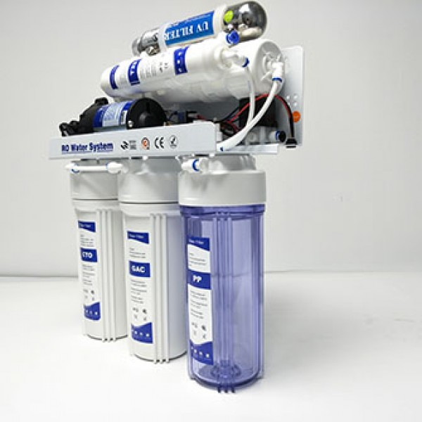 6 stage reverse osmosis UV water filter