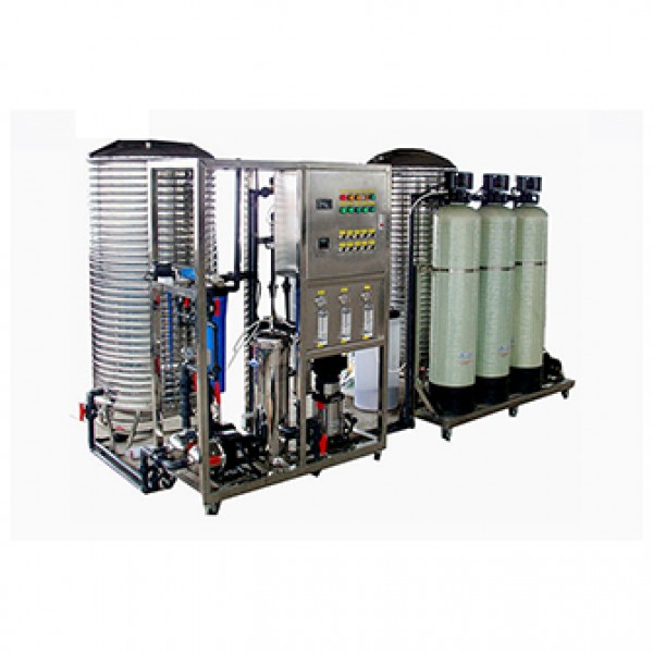 250L each hour industrial reverse osmosis water treatment plant ro water filter system