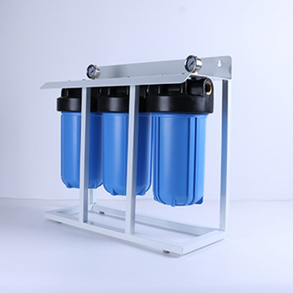 3 stage 10inch jumbo whole house pre-water filter system
