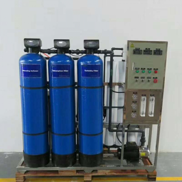 Industrial automatic single stage reverse osmosis water purification RO water filter machines water filtration plant
