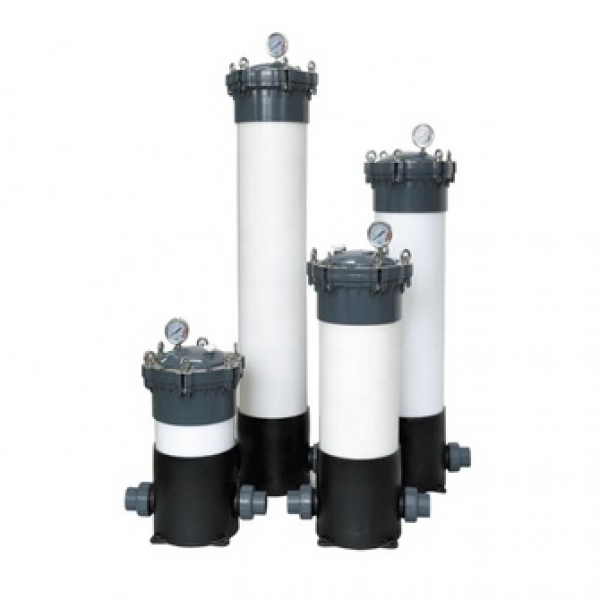 10-40 Inch UPVC 3/5Core Micro filter / Micro Membrane Filter Housing / cartridge filter