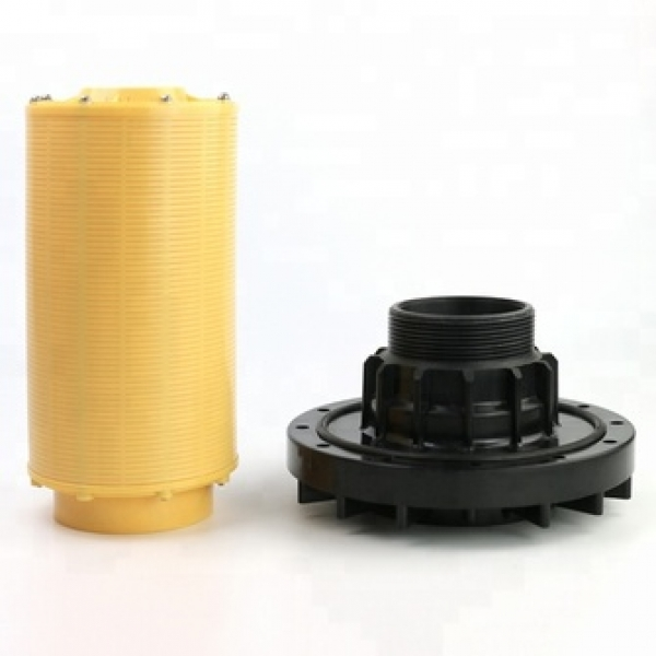 Water filtration reverse osmosis water filter 6 inch Top Mount Diffuser water distributor with flange