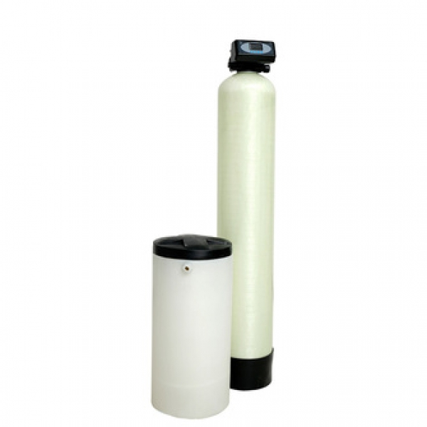 Salt dissolving tank united standard water softener filter system