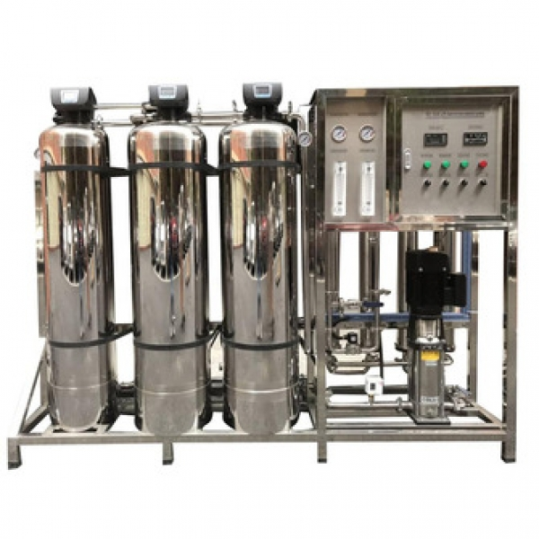 Commercial pure ro water purifier treatment plant, China factory 500LPH reverse osmosis water filtration plant