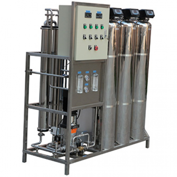 500LPH-1000LPH reverse osmosis water filtration plant
